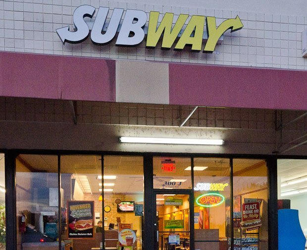 Subway, Edenton, North Carolina