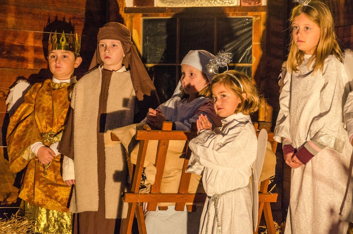 Live Nativity presentation