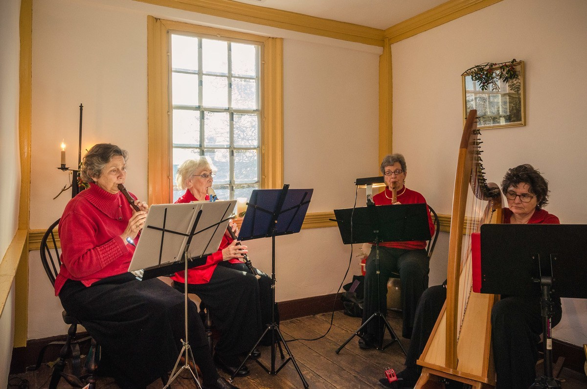Renaissance Quartet at the Cupola House