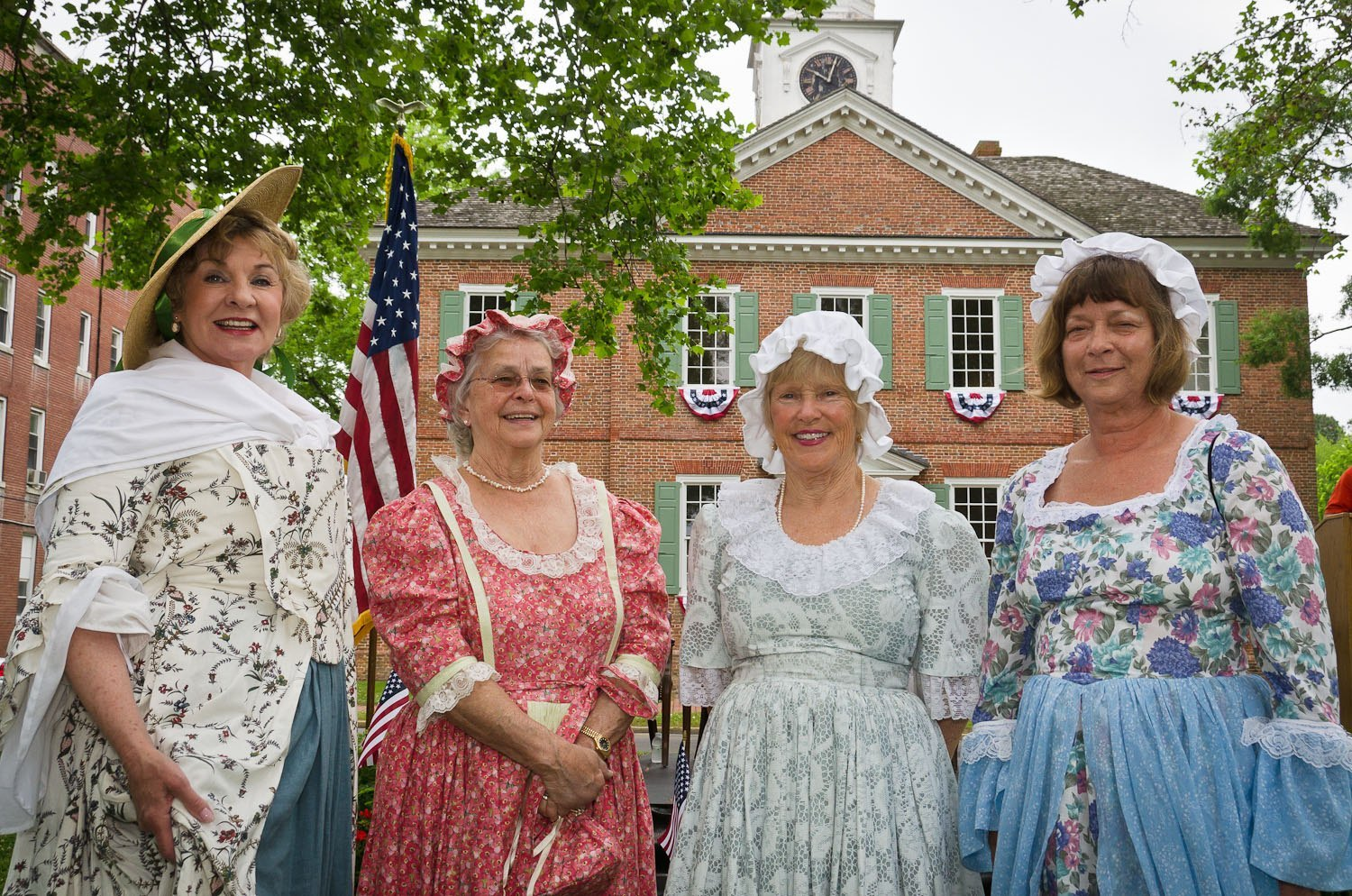 Members of the Edenton Woman's Club