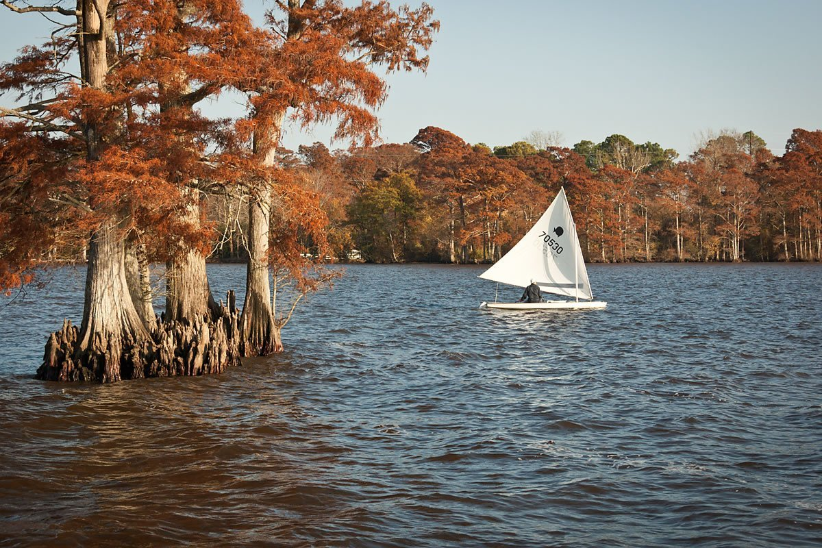Autumn sailing
