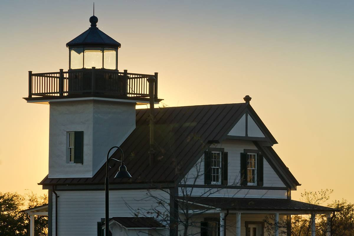 Roanoke River Lighthouse - restored