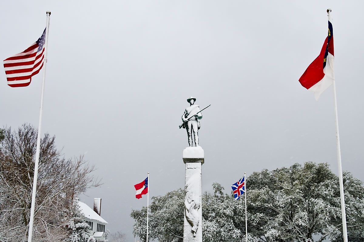 Confederate Soldiers Memorial (<em>photo by Kip Shaw</em>)