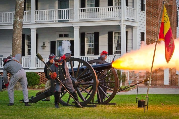 Civil War Re-enactment, Edenton, North Carolina (Photo by Kip Shaw)
