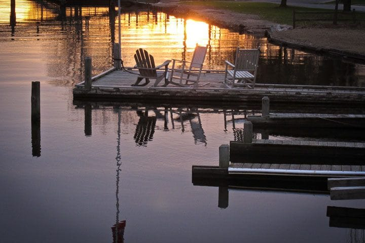 Where to watch the sun set, Edenton, North Carolina (Photo by Kip Shaw)