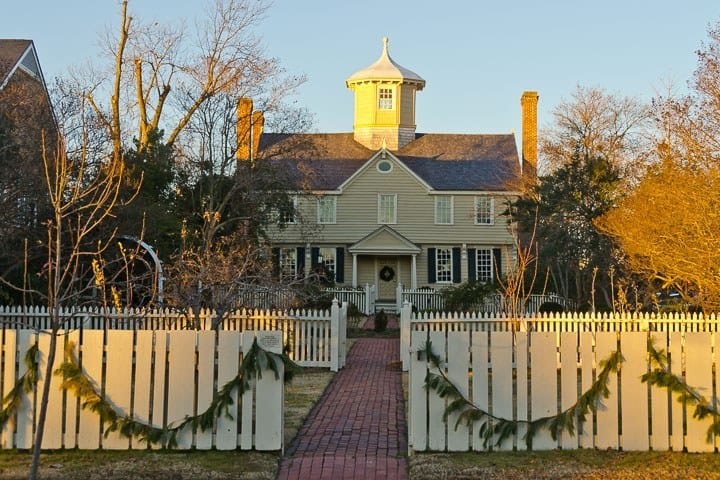Cupola House, Edenton, North Carolina (Photo by Kip Shaw)